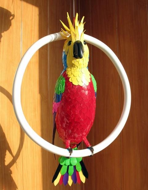 Поделки своими руками попугай