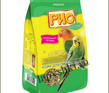 3. Корм Рио для средних попугаев