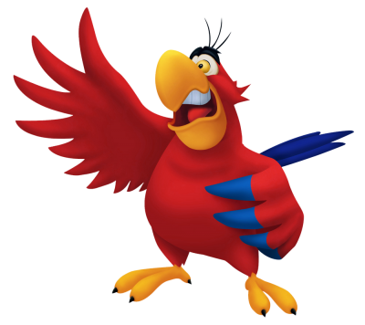 Transparent_Aladdin_Parrot_Iago_PNG_Cartoon